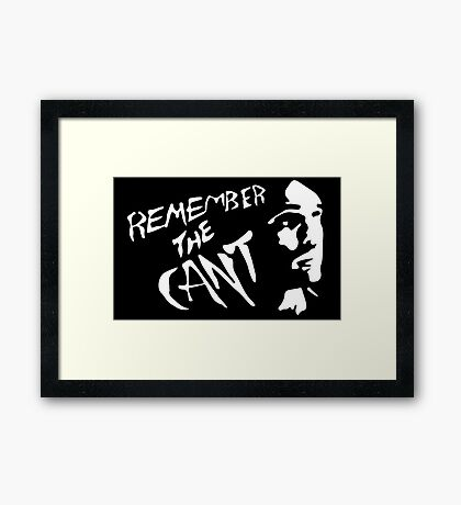 RememberTheCant (The Expanse) #1 Framed Print