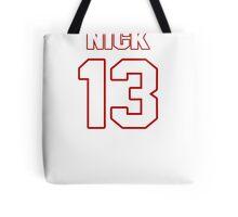 NFL Player Nick Williams thirteen 13 Tote Bag