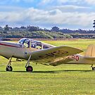 Miles M38 Messenger 2A G-AKBO by Colin Smedley