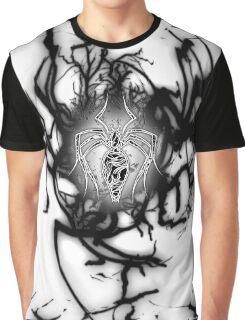 White Venom Symbiote Graphic T-Shirt