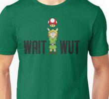 Zelda/Mario - Wait WUT Unisex T-Shirt