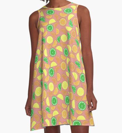 Citrus! A-Line Dress