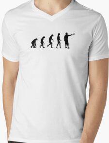 Evolution of Graffiti / Streetart / Bombing Mens V-Neck T-Shirt