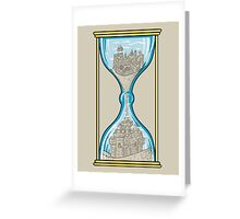 Sandcastle of Time Greeting Card