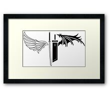 Final Fantasy VII - One Winged Angels Framed Print