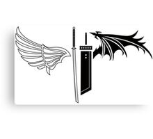 Final Fantasy VII - One Winged Angels Canvas Print