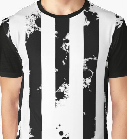 Splatter Bars Graphic T-Shirt