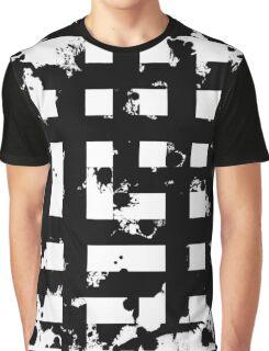 Splatter Hatch Graphic T-Shirt