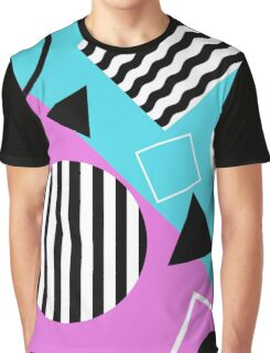 Stripes And Splats 2 Graphic T-Shirt