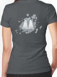 Final Fantasy VIII - Angel Wings Women's Fitted V-Neck T-Shirt