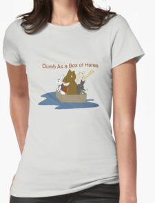 Dumb As A Box of Hares Womens Fitted T-Shirt