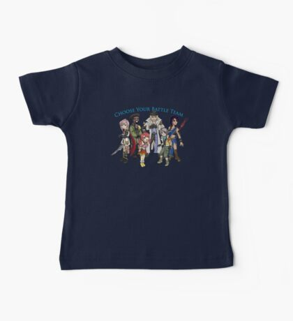Final Fantasy XIII - Pick Your Battle Team! Baby Tee