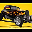1934 Ford HiBoy Coupe by DaveKoontz