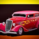 1934 Ford Tudor Sedan   by DaveKoontz