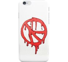 War Paint and Peace iPhone Case/Skin