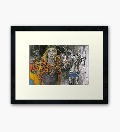 Peace Chariot#1 Framed Print