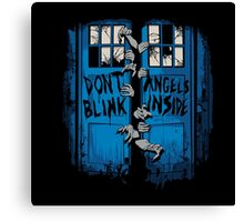 The walking Angels Canvas Print