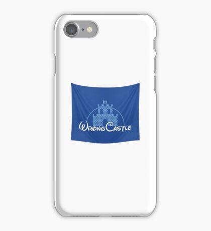 Wrong Castle (Walt Disney) iPhone Case/Skin