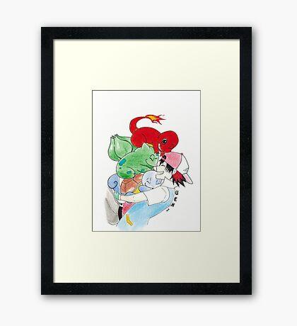 Gen #1 Framed Print