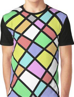 Crazy Pastel Paving Graphic T-Shirt
