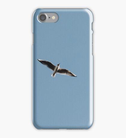 Seagull In The Blue Sky iPhone Case/Skin