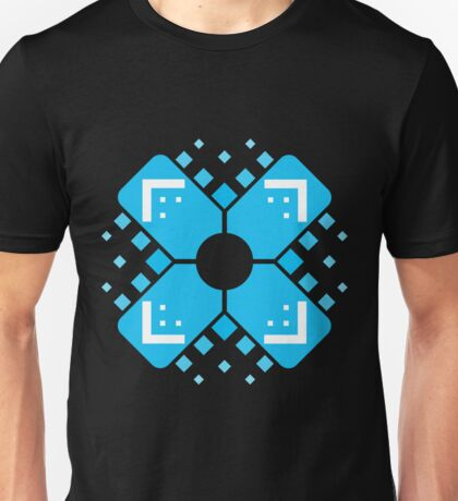 Digital Crosshair Unisex T-Shirt