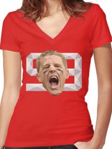 JJ Watt Women's Fitted V-Neck T-Shirt