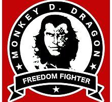 Monkey D. Dragon X Che by carlson123