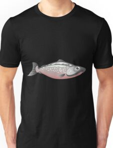 Glitch Inhabitants npc salmon Unisex T-Shirt