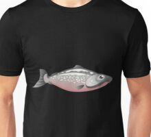 Glitch Inhabitants npc salmon Unisex T-Shirt