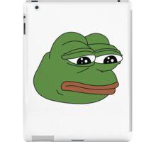 Sad Frog iPad Case/Skin