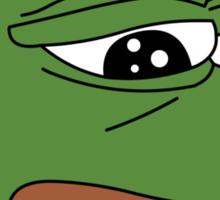 Sad Frog Sticker