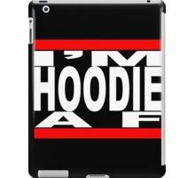 I'm Hoodie AF - white letters iPad Case/Skin