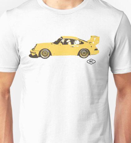 Porsche 911 Turbo Race Car by Robert Charles Designs Unisex T-Shirt