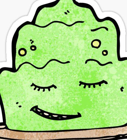 retro cartoon sticker Sticker