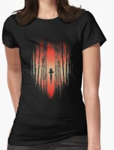 The Battle Begins Womens Fitted T-Shirt