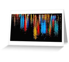 Reflected Lights Greeting Card