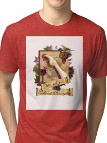 DRIPPING WINE Tri-blend T-Shirt