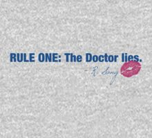Doctor Who - Rule One One Piece - Short Sleeve