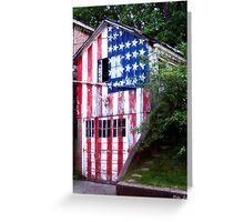 An All-American Garage Greeting Card