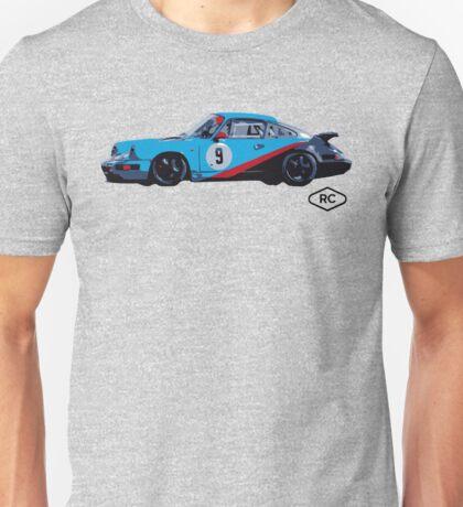 No.9 - Porsche 964 Race Car by Robert Charles Designs Unisex T-Shirt
