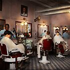 Barber - Senators-only barbershop 1937 by Mike  Savad