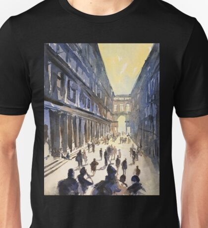Bologna, Italy watercolor painting Unisex T-Shirt