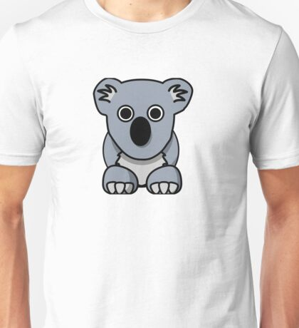Cartoon koala Unisex T-Shirt