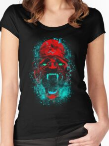 Midnight Panther Women's Fitted Scoop T-Shirt