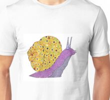 Psychedelic Snail Unisex T-Shirt