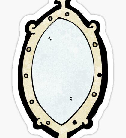 cartoon mirror Sticker