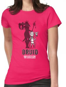 AFTER SCHOOL WARRIORS: DRUID Womens Fitted T-Shirt