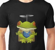 Glitch Inhabitants npc yoga frog Unisex T-Shirt