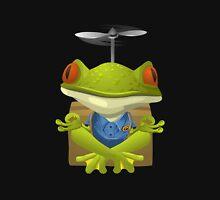 Glitch Inhabitants npc yoga frog Unisex T-Shirt